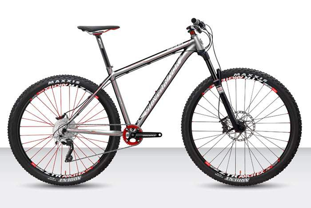 The Silverback Signo Tecnica hardtail features a 130mm ...