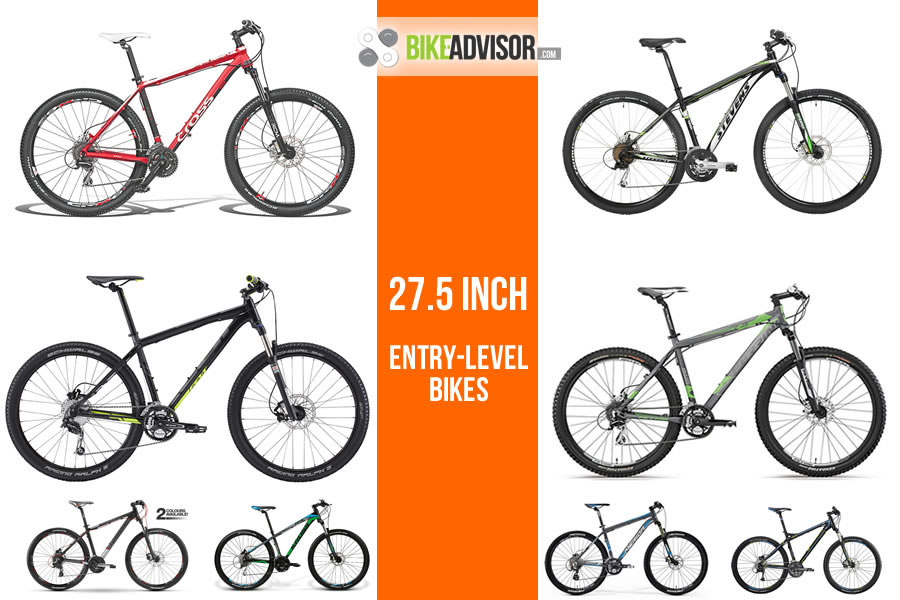Bicycle Guide: 2014 entry-level 27.5 inch mountain bikes