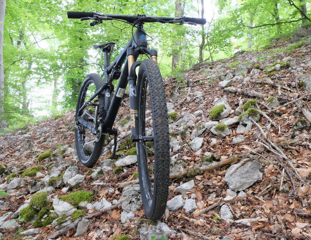 The bike I was talking about: In common language: full-suspension, full-Fox, full-XTR.