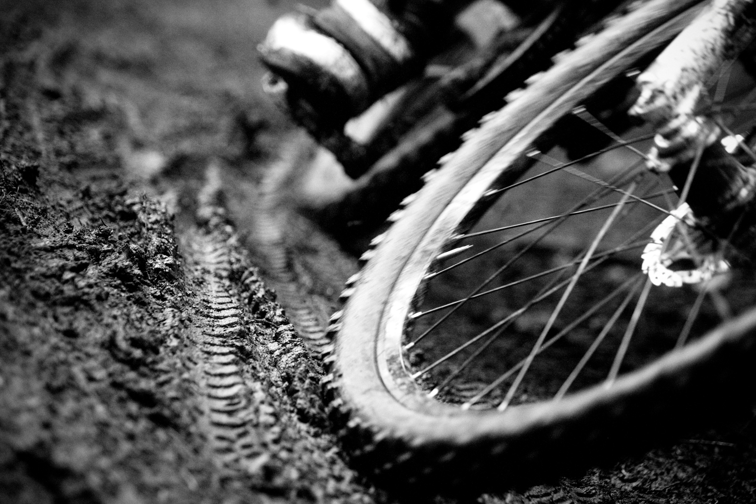 mountain bike background, Powerpoint templates