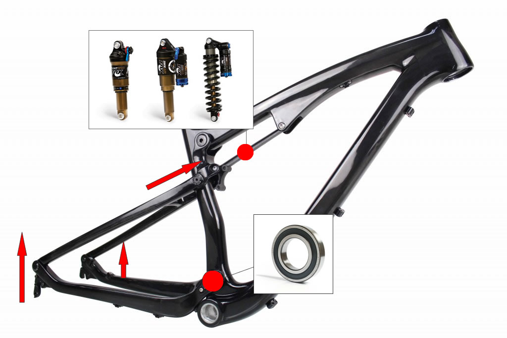 how-does-a-bicycle-frame-suspension-work