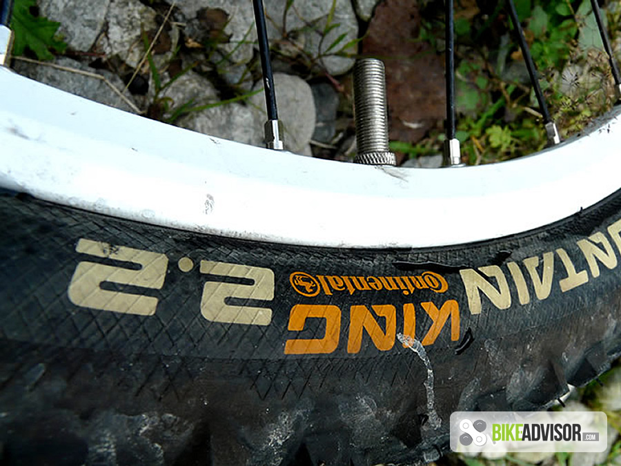 Continental Bicycle Tires >> Continental Mountain King 2.2 (2011) review