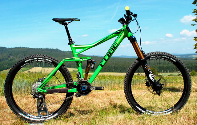cube releases the fritzz 160 and 180 enduro mountain bikes. Black Bedroom Furniture Sets. Home Design Ideas