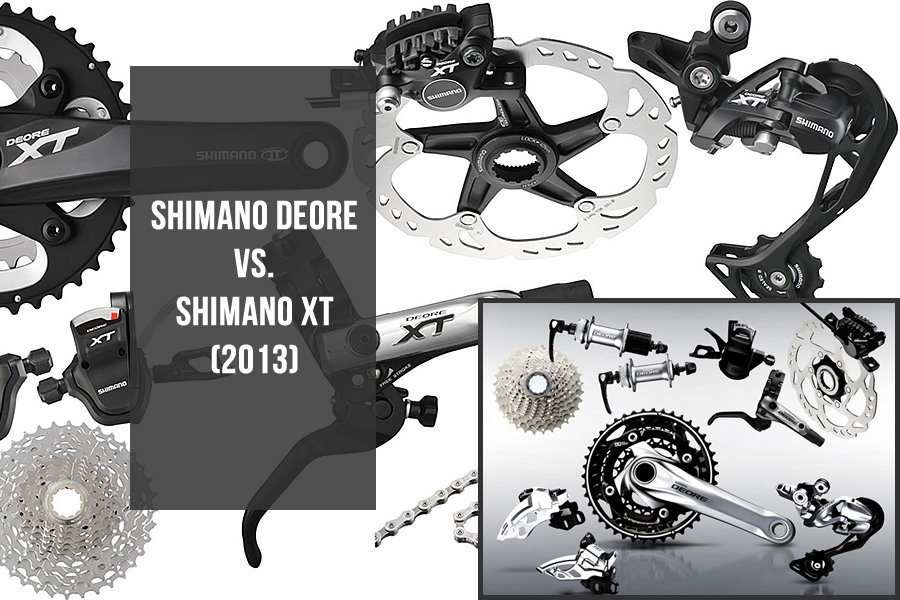 Options: Shimano Deore or Shimano Deore XT?