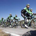 Team Belkin and Bianchi Oltre XR.2 in Spain