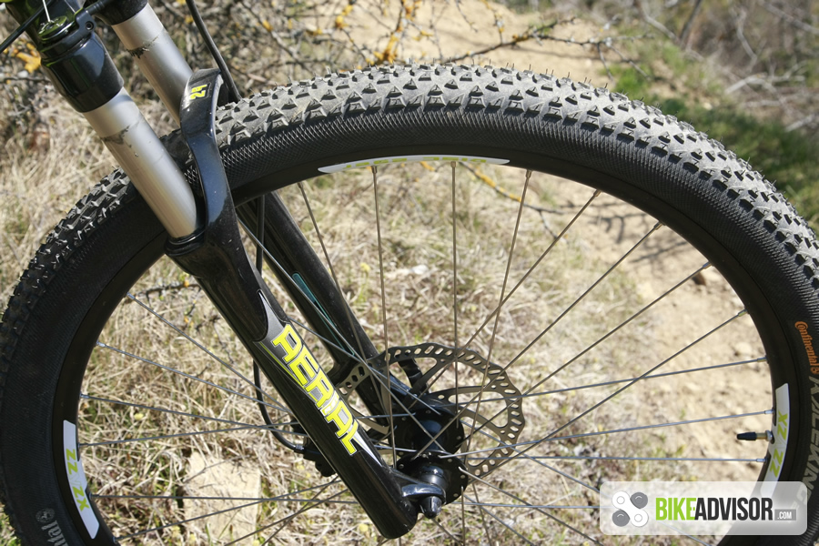 Continental Bicycle Tires >> RST Aerial RL 29 Suspension Fork Review (2014)