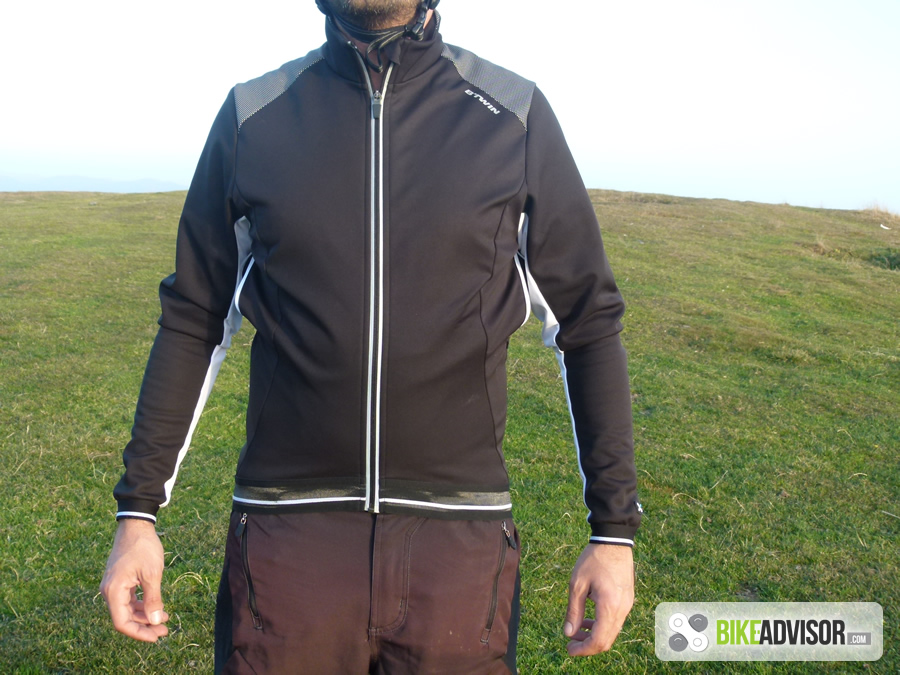 Review  B TWIN 500 Winter Cycling Jacket d8d988140