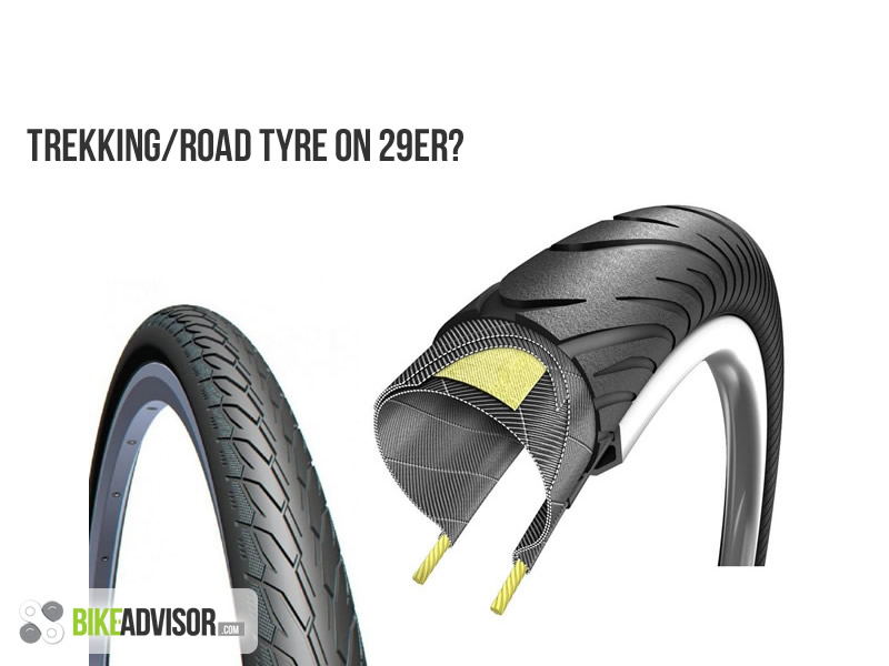 Can I Use Road Trekking Tires On 29er Mountain Bikes